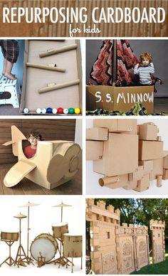 Repurposing-Cardboard-for-Kids