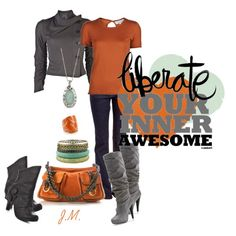 Awesome in Orange!, created by jenniemitchell
