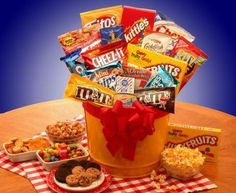 Junk Food Madness Gift Basket