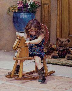 'Adios Amigos!' Steve Hanks paintings