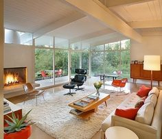 Large Modern Living Room
