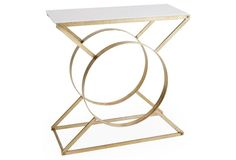 CONSOLE TABLE IDEAS | marble top console table| bocadolobo.com/ #consoletableideas #modernconsole