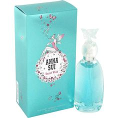 Secret Wish is an amazing refreshing angelic scent for women by Anna Sui. Possesses the blend of of melon, invigorating lemon and apricot blends into a beautiful blend of cedarwood, pineapple, black currant and amber. Secret Wish is recommended for casual wear perfume for Women.