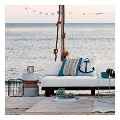 39 Cool Sea And Beach-Inspired Patios ❤ liked on Polyvore featuring backgrounds, beach, photos, summer and home