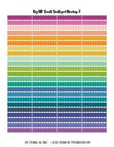 pastel headers   Free planner printables   Pinterest ...