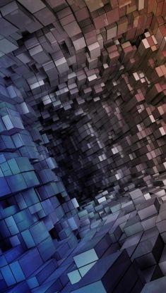 cube holl iphone 5 wallpaper