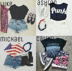 What you wear to a 5SOS concert.