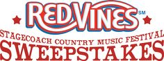 Red VinesSM Stagecoach Country Music Festival Sweepstakes!