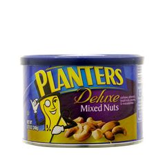Planters Deluxe Mixed Nuts- Cocktail mix for last minute parties.