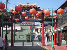 Downtown Los Angeles Chinatown