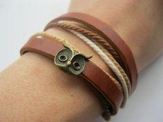 Cute Owl bracelet