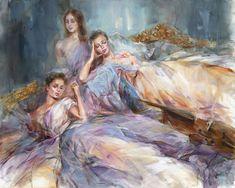 Retrospection | Painting by Anna Razumovskaya