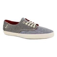 30e9f7ee1a Vans E-Street KW0630 Mens Laced Chambray Trainers  Amazon.co.uk  Shoes    Accessories