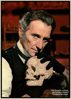 Peter Cushing whether playing a villain or a hero, always brought the Classy! to Hammer.