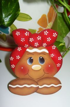 Gingerbread Fridge Magnet