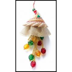 Buy Designer Lumba : On the occasion of Rakhi, sisters tie Rakhi to their brother and Luma to their brother's wife. Lumba is tied to the bangle and it beautifully hangs from the bangle.