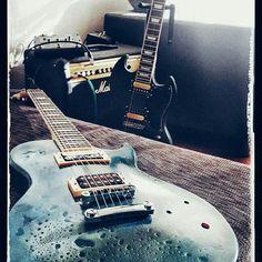 Harley Benton LesPaul kit and SG kit #guitar #lespaul #sg #diybuild