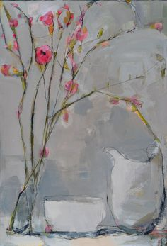 still life - LISA NOONIS Be Still, Still Life, Abstract Flowers, Life Inspiration, Contemporary Paintings, Art Lessons, Floral Paintings, Lisa, Watercolor