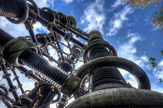 Заброшенный комплекс трансформаторов Тесла