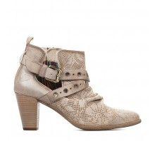 Boots femme - Beige - FELMINI