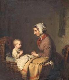 Johann Georg Meyer Von Bremen - Das Abendgebet