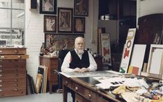 Ever wondered what it's like inside the world's most famous art studios? Well you're in for a treat, check how what Sir Peter Blake's, Pixar's and Francis Bacon's art studios are like. Beatles Albums, Peter Blake, Paul Weller, Print Release, Lonely Heart, Famous Art, Studio Shoot, Art Studios, Writers