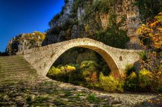 TRAVEL'IN GREECE | Kokorou bridge - near Ioannina (Zagorochoria), #Epirus, #Greece, #travelingreece