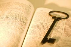 He has given us they keys to the Kingdom...