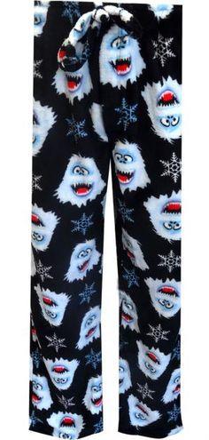 WebUndies.com Rudolph The Red-Nosed Reindeer Bumble Fleece Lounge Pants