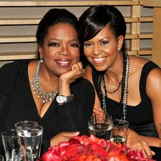 Wonder What Michelle and Oprah Are Doing Right Now