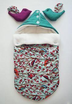 Sleeping bag for newborn autumnwinter by OrigamicoWorkshop, $70.00