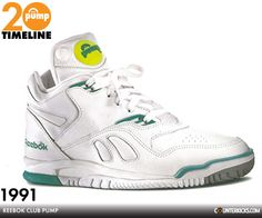 Reebok Club Pump circa 1990