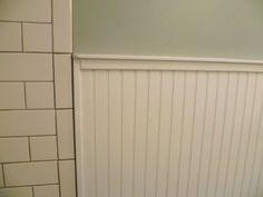 New England bathroom design. Custom by PNB. Porcelain