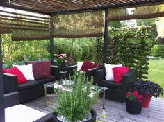 Tankar från Trädgårdsmästarn: Staket, Uteplats eller Väggar i trädgården? Tips från trädgårdsdesigners.