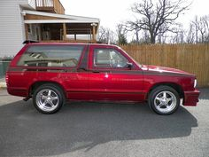1983 Chevy S10 Blazer ( Custom V8 ) - $8,500 - Classic Cars - Cars & Vehicles - AmerJa Baltimore Classifieds - Local classifieds for Baltimore - Maryland Small Trucks, Mini Trucks, Cool Trucks, S10 Truck, Chevy Trucks, Pickup Trucks, S10 Blazer, Chevy S10, Custom Trucks