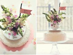 love this DIY tea cup cake topper!