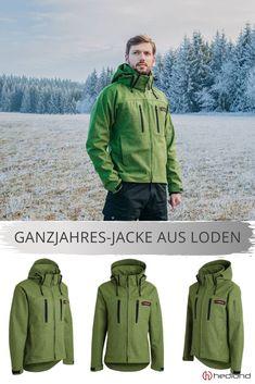 pfanner grizzly jacke grün