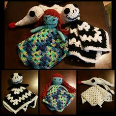 Nightmare Before Christmas crochet Lovey
