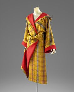 Coat Issey Miyake  (Japanese, born 1938) Design House: Miyake Design Studio (Japanese) Date: fall/winter 1976–77 Culture: Japanese Medium: wool