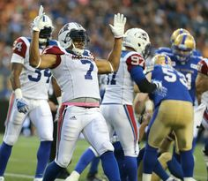 WINNIPEG -Duron Carter picked up exactly where he left off while Kevin Glenn couldn't be stopped, as the Alouette offence took flight in a win over the Bombers on Friday night. Montreal Alouettes, June 24, Blue