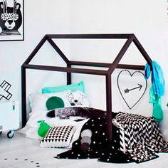 Dormitorios infantiles divertidos, originales y con buen gusto. Ideas para decorar habitaciones juveniles en Charhadas. #dormitoriosinfantiles #habitacionesinfantiles #decoracion