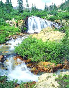 Cascade Creek Waterfall | San Juan Mountains