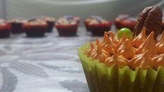 Hermoso cupcake de Zanahoria