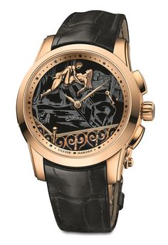 News  Introducing the Ulysse Nardin Hourstriker Erotica Jarretière.  Equipped with a Little Something for Voyeurists. 799a5f4c34f