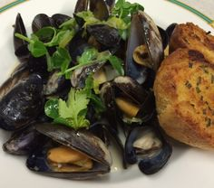 Thai Green Chilli Mussels and homemade garlic bread, have a look at our favourite seafood dishes...