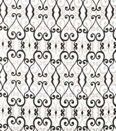 Home Decor Print Fabric-SMC Designs Culver / OnyxHome Decor Print Fabric-SMC Designs Culver / Onyx,