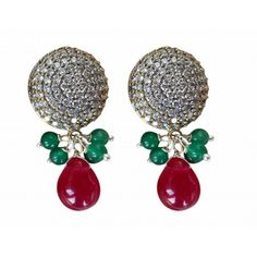 Oxidised metal and victorian inspired earrings - Online Shopping for Earrings by AISHWARYA JEWELLERS