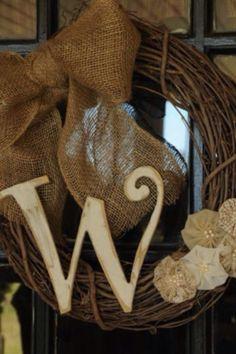Grapevine wreath W