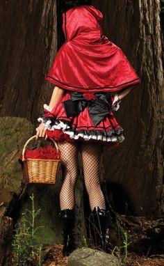 Disfraz de Caperucita y el Cazador DF151 - Halloween