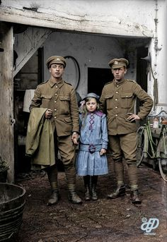 The Lost Tommies and Diggers: Striking Colorized Images of British Soldiers Who Fought in the Battle of the Somme – Vintage News Daily World War One, Second World, First World, British Soldier, British Army, Commonwealth, Colorized History, Military Tactics, Ww1 Soldiers